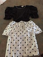 Girls Polka dot dress size 6/8