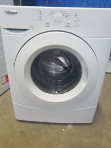 2>> Whirlpool Front Load Washer, Huge water and Hydro Saver