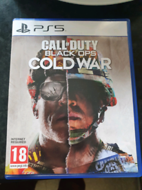 Ps5 back ops coldwar 35 pound or swap for a game