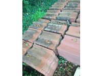 Redland concrete roof tiles & cloaked verge tiles