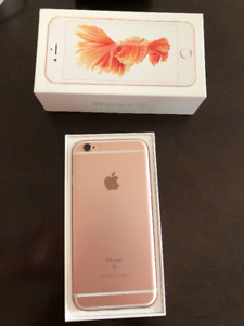 No scratch-iPhone 6s, 16GB, Gold, accessories-Used