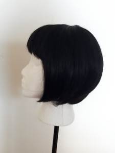 Synthetic Hair Short Black Wig