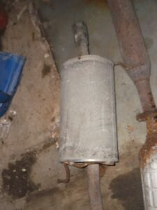 Mazda Protege5 muffler and catalytic converter for sale