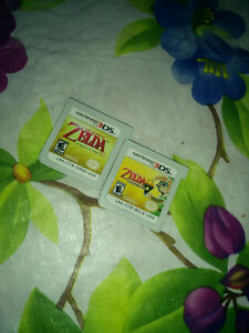 Zelda ocarina of time 3DS and link between worlds