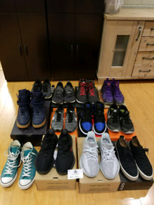 Sneaker Clearout (Yeezys, Jordans, Runners, BBall shoes)