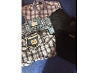 Collection of men's shirts