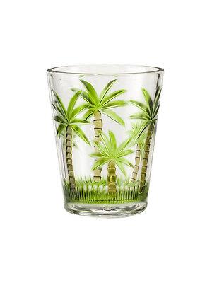 My Table Talk® Set of 4 - Acrylic Palm Tree Classic Series 14 Oz DOF Tumbler Acrylic Dof Set