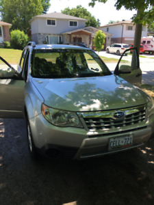 2011 Subaru Forester Low Km's, Excellent Condition