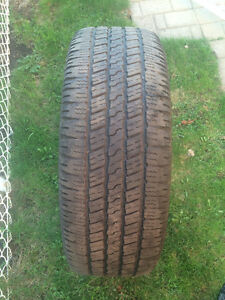 1 PNEU /  1 ALL SEASON TIRE  275/60/20 GOODYEAR WRANGLER