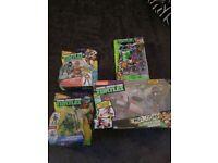 Ninja Turtle Action Figure Toy bundle