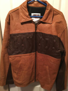 Limited Edition 2004 World Cup Hockey Leather Jacket