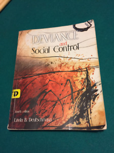Deviance and Social Control Textbook
