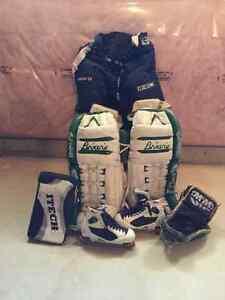 Goalie equipment Great for Rec Hockey $150.00