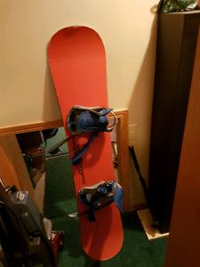 Static snowboard