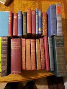 Variety of old books