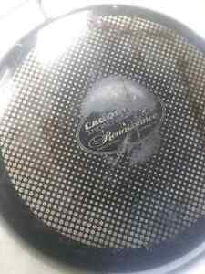 Lagostina 10- 12 inch fry pan used but good condition