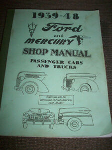 Ford and Mercury Shop Manual London Ontario image 1
