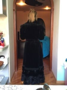 Full length Real Mink Coat