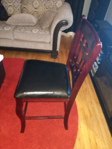 Pub table chairs