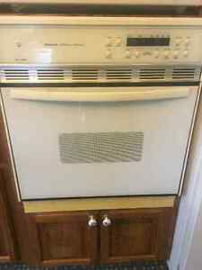 Self Cleaning White KENMORE Wall Oven