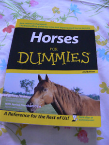 Horses for Dummies - 2nd Edition - Like New