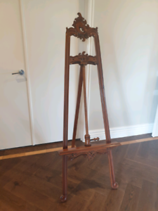 Stunning mahogany timber easel. 1750mm high. Never been used. Kyneton Macedon Ranges Preview