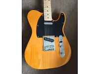Squire by Fender telecaster guitar