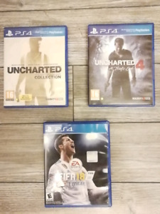 Fifa 18 & The Uncharted Series for just $50!