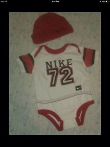Nike onsie with hat