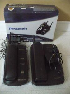 téléphone Panasonic, chargeur à piles