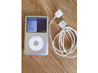 Classic Apple iPod 160GB 7th Generation Silver