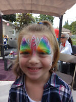 Face Painting & Glitter Tattoo for 1 1 /2 Hour for only $145.