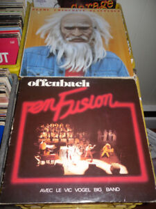 LPs - French Canadian - jazz - prog - rock