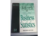 Business Statistics by Mick Silver for just £5