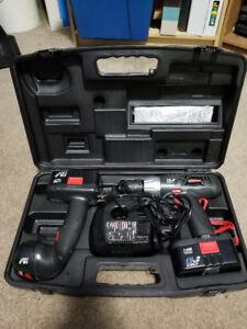 Craftsman 19.2V Cordless Drill-Driver & Cordless Worklight