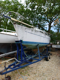 6m Sailing Boat on own trailer project