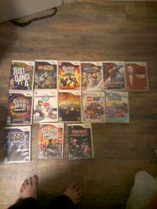 14 Nintendo Wii Games for sale