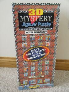 "3D Jigsaw Puzzle-""Hotel Who Dunnit"""