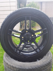 """16"""" rims 4 x114  with tires"""