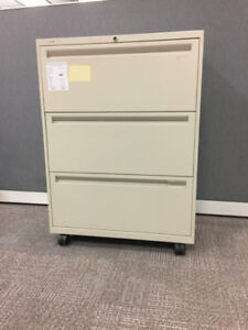 Cabinet - Mobile Filing Cabinet - 3 Drawers - UNIQUE ITEM