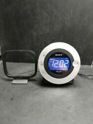 Sony ICF-CD3iP Dream Machine CR-R/RW Player FM/AM CD Alarm Clock Radio iPod Dock