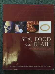 ANTHROP 1AA3 Textbook - Sex, Food, and Death