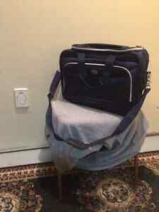 Blue Carry-On Bag
