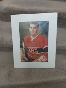 Maurice Richard Montreal Canadiens Painting