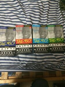 Tae Bo Ultimate body workout VHS Set