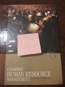 Canadian Human Resource Management 8th edition