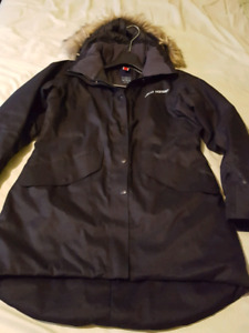 Helly Hansen Hilton Parka SZ Large Black