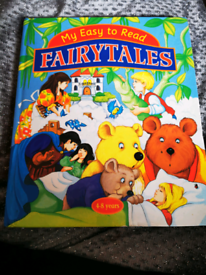 My easy to Read fairy tales book