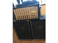 Peavey cr300 - full pa ready to go 6 Channels