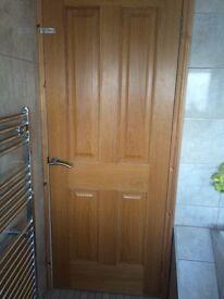 5 solid oak doors 197 x76